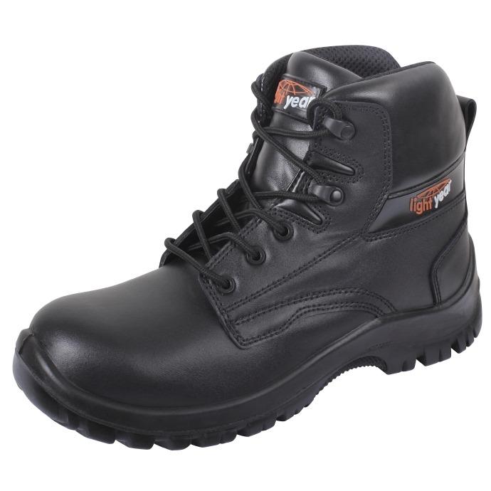 Lightyear Pioneer Black Ankle Boot S3