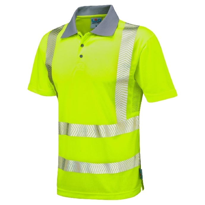 Coolviz Plus Hi-Vis Polo Shirt Yellow
