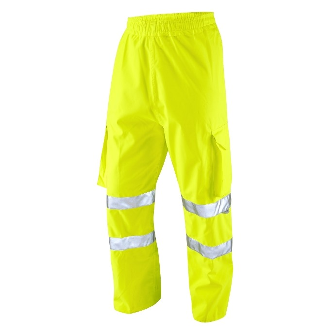 Hi-Vis Cargo Overtrousers - Yellow - XXL